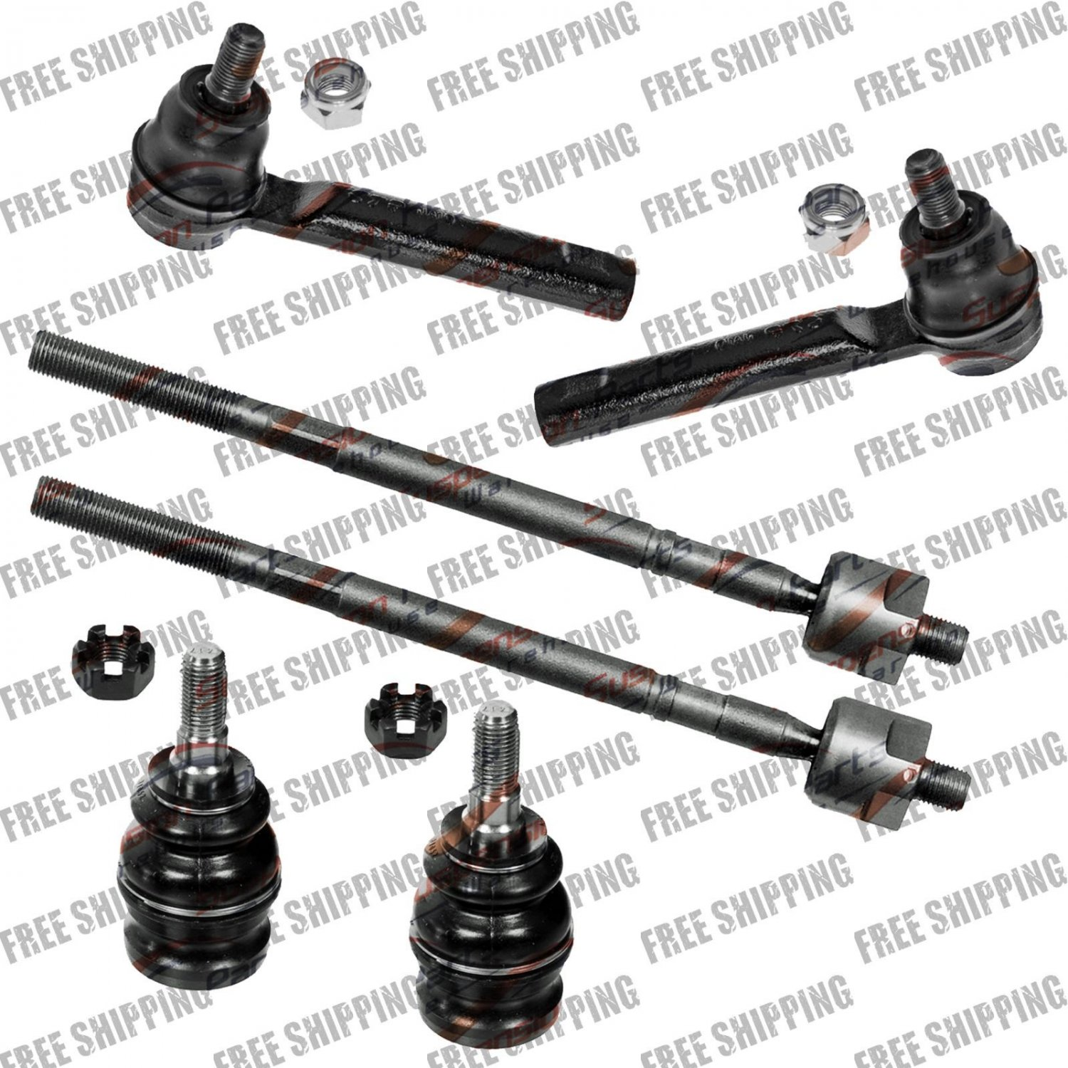 Front Steering Tie Rod End Linkages Lower Ball Joint For