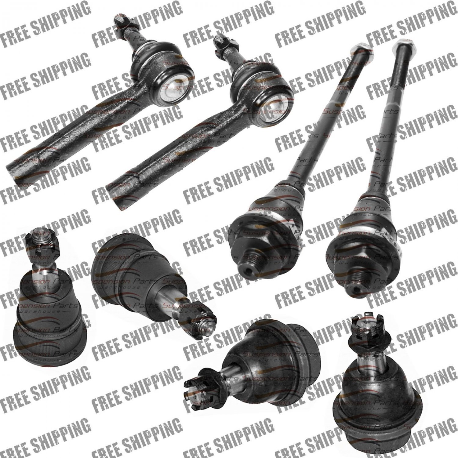 Front Tie Rod End Ball Joint For Chevy Silverado Hd