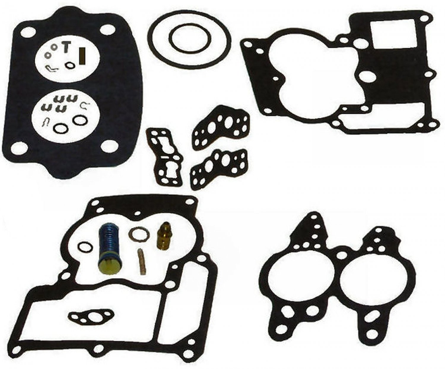 2bbl Rochester Carburetor Repair Kit For Inline 4 And 6 Cyl Gm Replaces A1 Tm