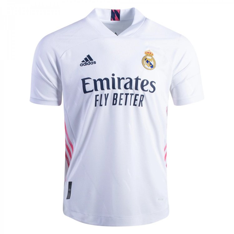 Real Madrid 2020 2021 home soccer jersey -white