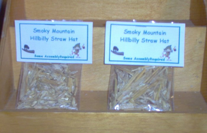 Smoky Mountain Hillbilly Straw Hat Gag Gift By The Village