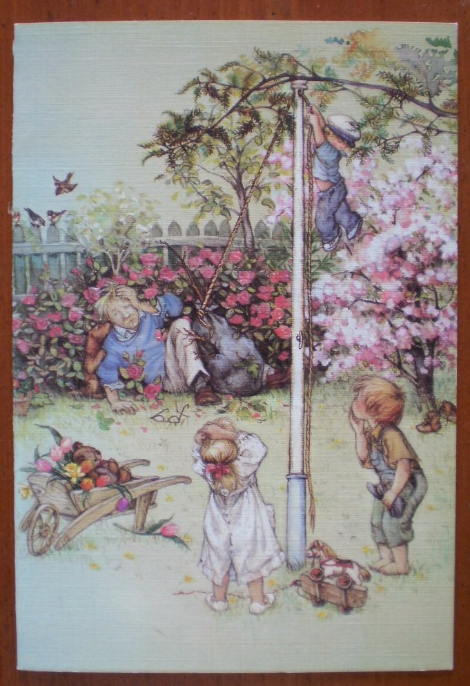 Lisi Martin Fathers Day Greeting Card 1985 Pictura
