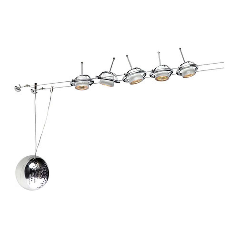 Ikea Termosfar Low Voltage Wire Cable Track Light Spot Lighting System White Chrome Termosfar