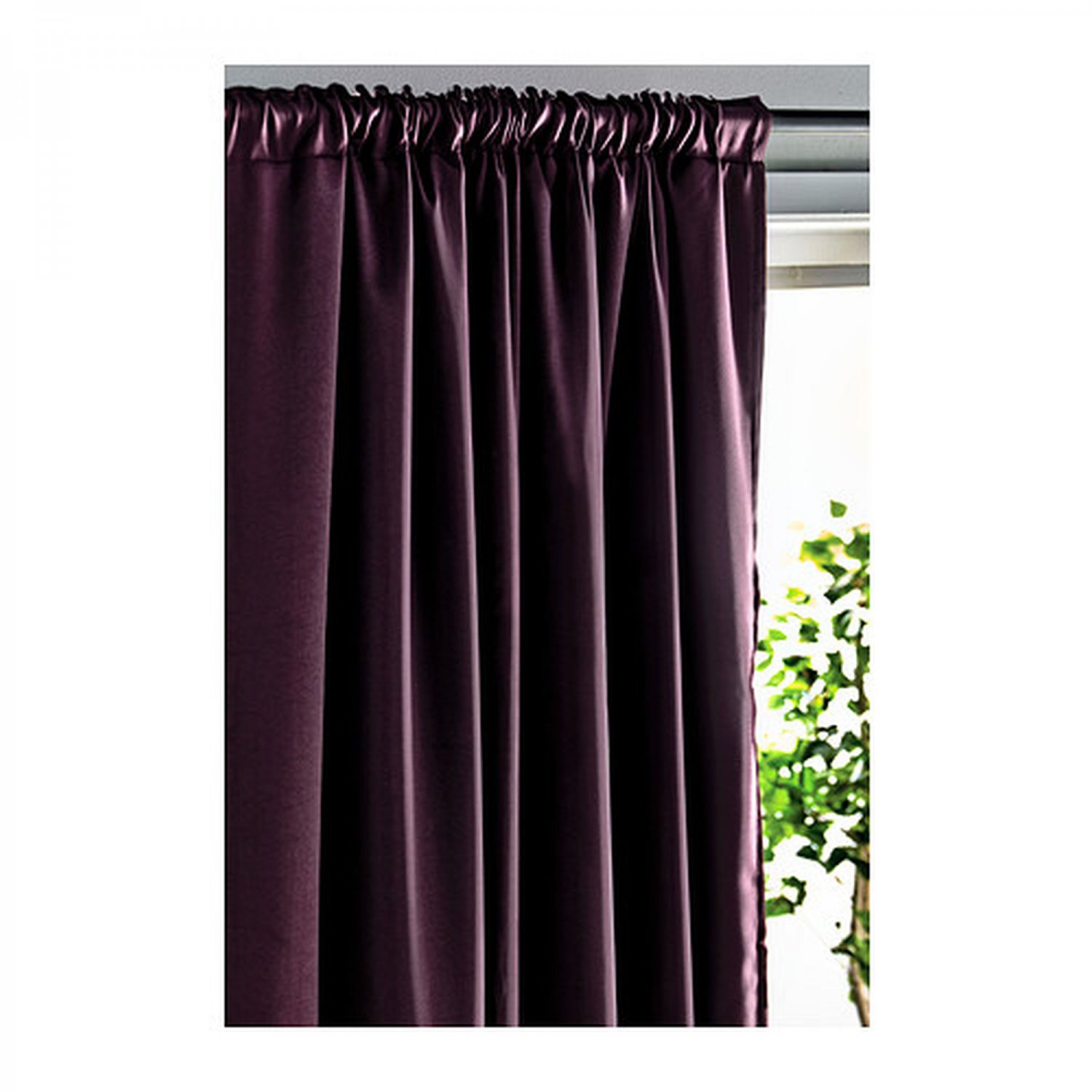 IKEA WERNA CURTAINS Drapes 2 Panels LILAC Purple Block Out 118