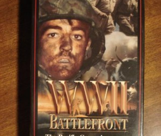 Wwii Battlefront Pacific Campaign Part Ii Vhs Video Tape Movie Film World War 2 Burma More