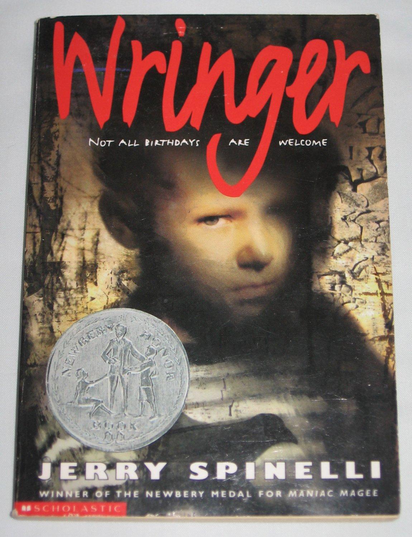 Wringer By Jerry Spinelli Paperback Winner Of