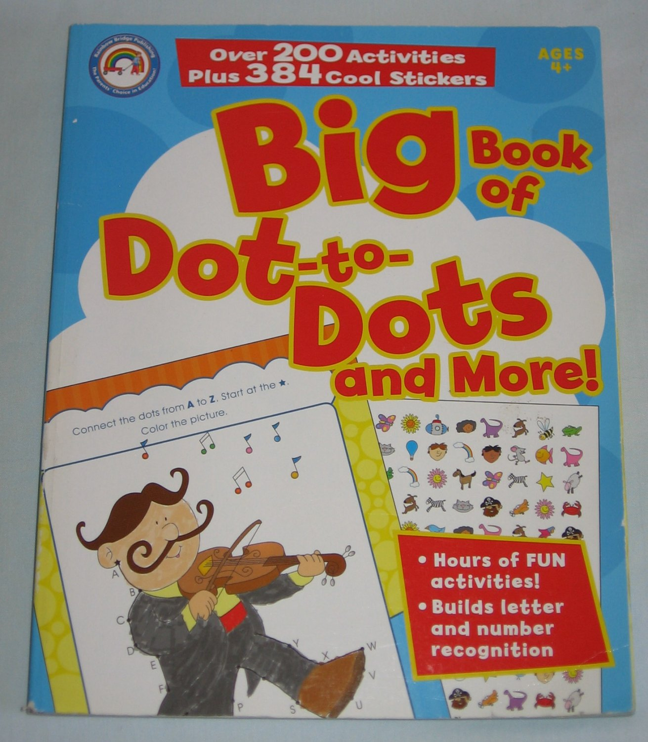 Big Book Of Dot To Dots And More By Rainbow Bridge 200