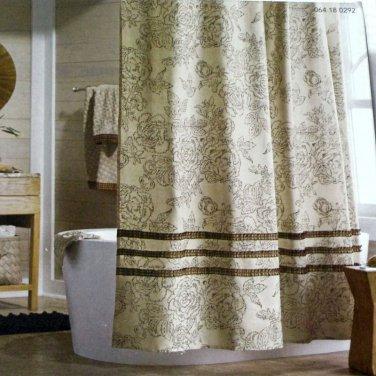 Fresh Grey Ruffle Shower Curtain Ffttyy Com
