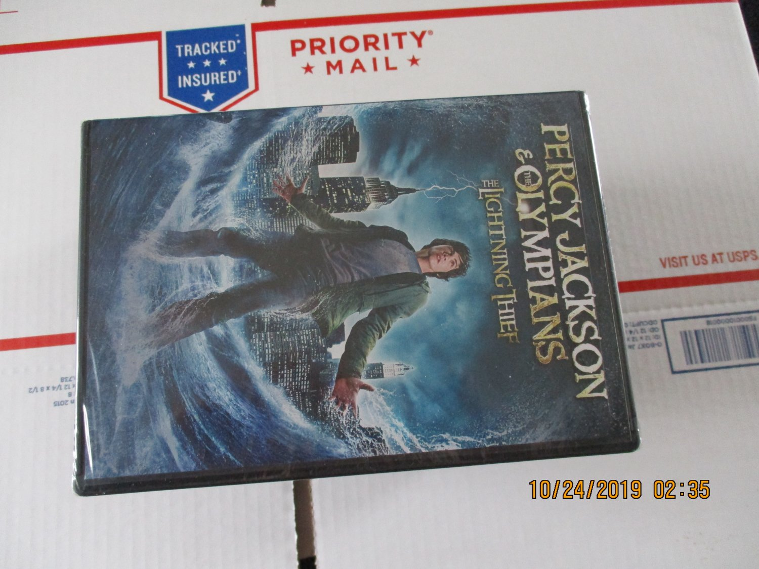 Percy Jackson And Olympians The Lightning Thief Dvd