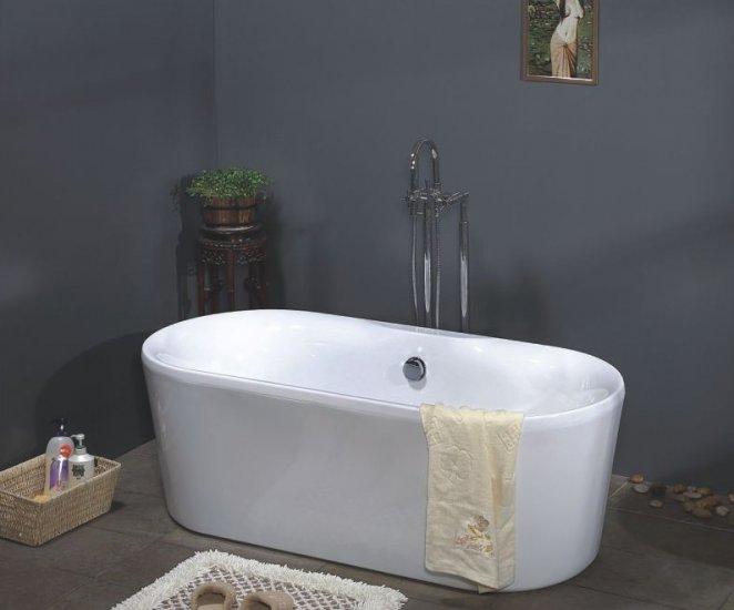 Aries Modern Freestanding Bathtub Amp Faucet Cheap Bathtubs