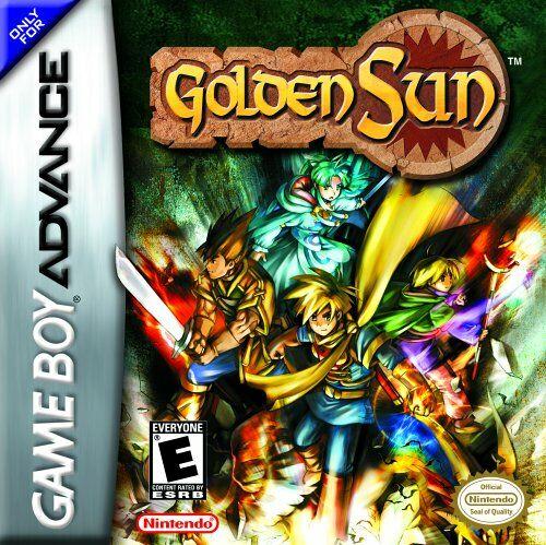 Resultado de imagen de golden sun gba
