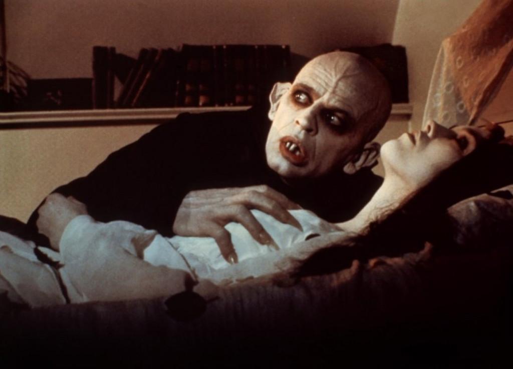 sabelle Adjani et Klaus Kinski dans le film Nosferatu, fantôme de la nuit