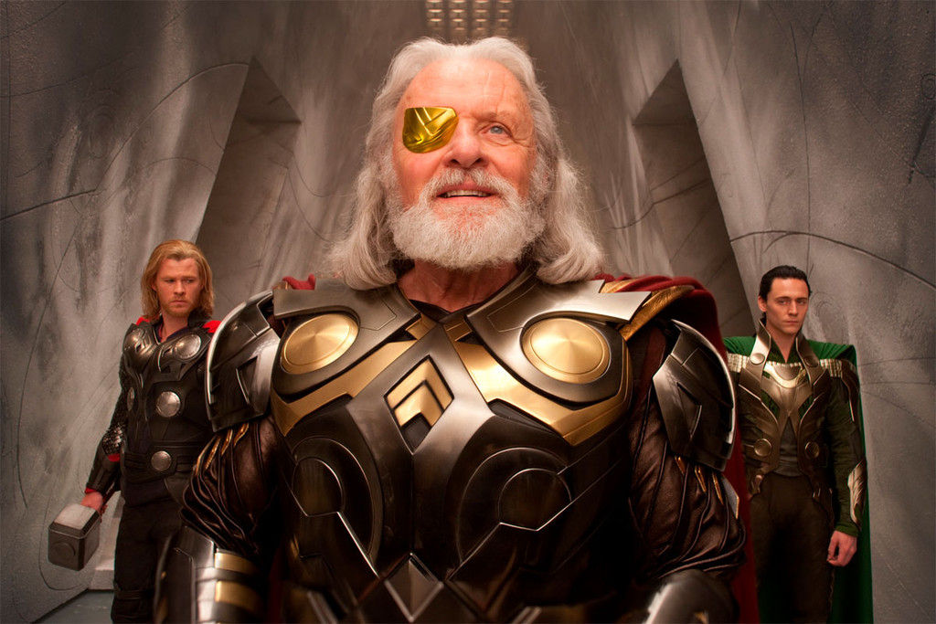Thor de Kenneth Branagh, Anthony Hopkins, Chris  Hemsworth et Tom  Hiddleston