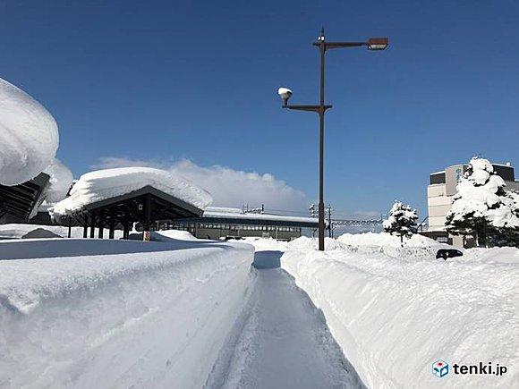 北海道 記録的な積雪に!?(2018年2月20日) - エキサイトニュース(1/2)