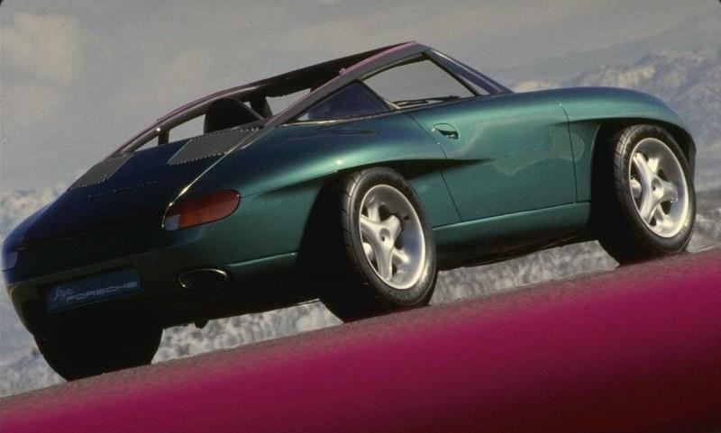 Porsche 911 Panamericana. автомобили, эксклюзив