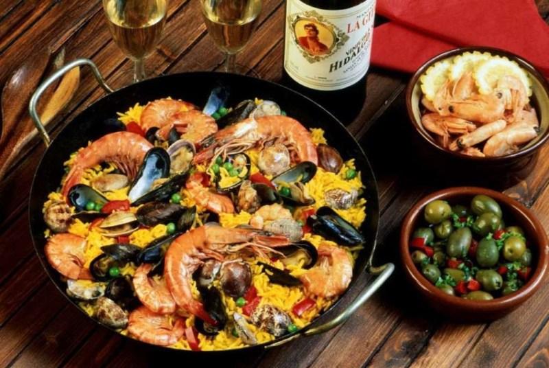 Паэлья (Испания) блюдо, еда, туризм
