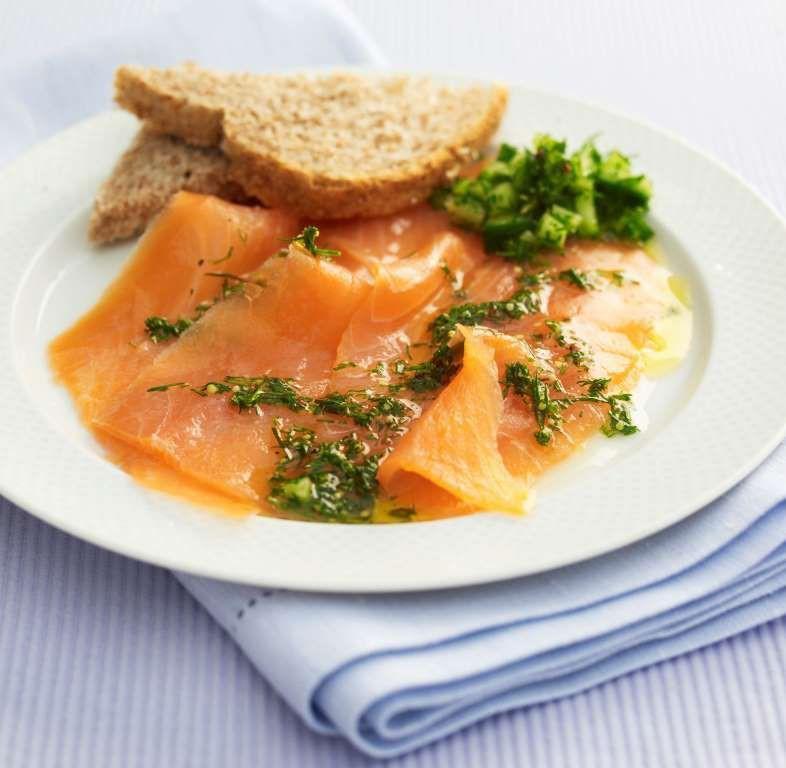 Копчёный лосось (Шотландия) блюдо, еда, туризм