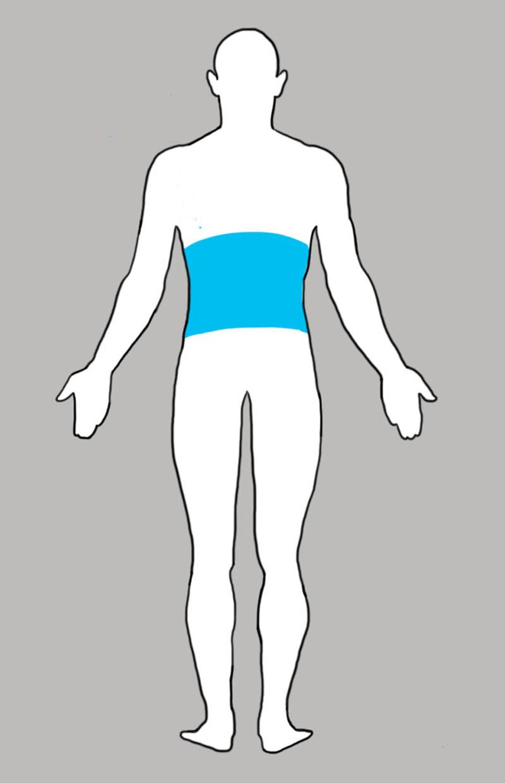 5. Поясница боль, люди, тело