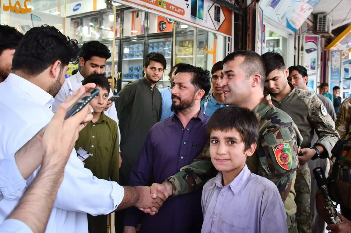 The loyalty and respect Sadat appears to command among the troops have been a key factor in the resistance to the Taliban in the city, despite their morale-damaging advances elsewhere in Afghanistan