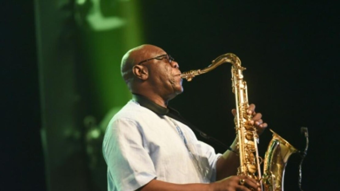 Jazz legend Manu Dibango, 85, fuses the rhythms of his native Cameroon with a bewildering array of genres