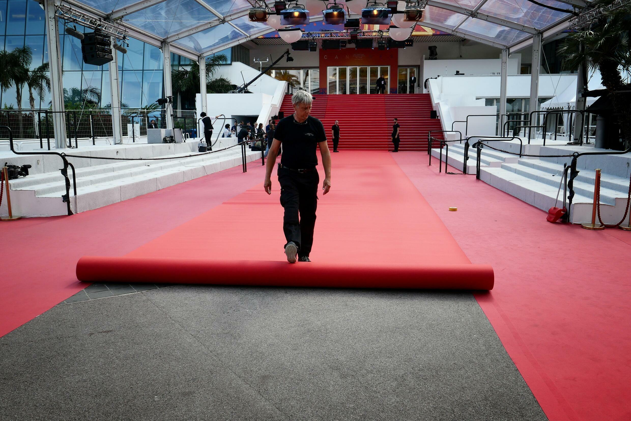 This year's Cannes red carpet will be half the size last seen in 2019.