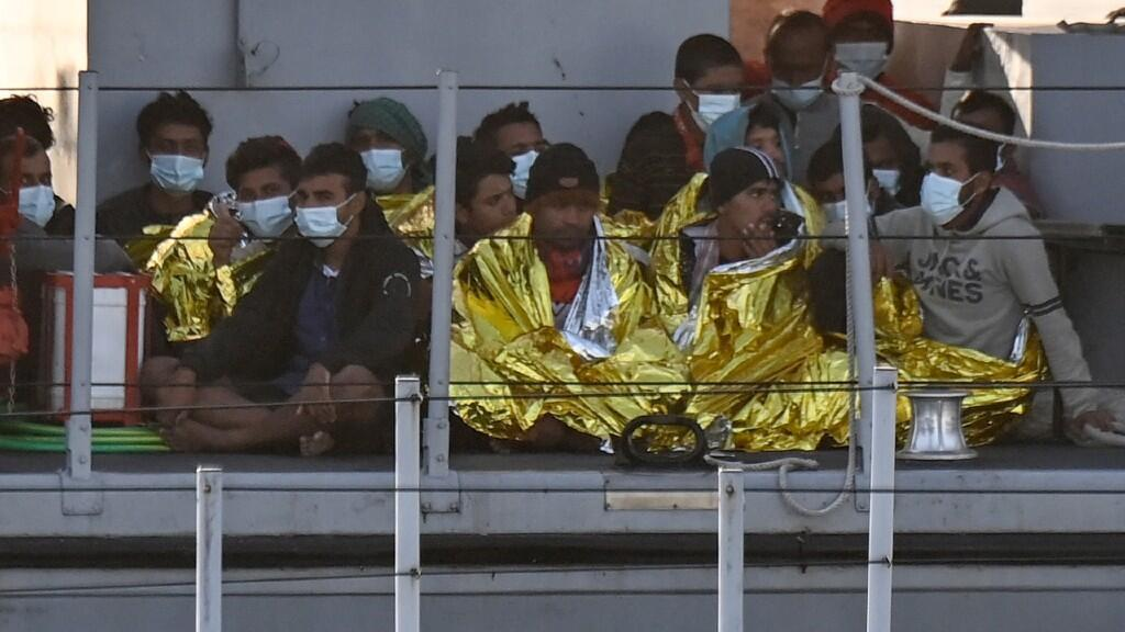The extremely crowded conditions in which undocumented migrants sometimes live represent a clear risk factor for the pandemic.  Archive image.