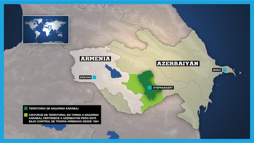 Qué hay detrás del conflicto entre Armenia y Azerbaiyán por Nagorno Karabaj?