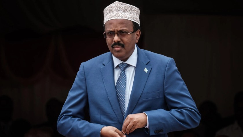 President Mohamed Abdullahi Mohamed, best known by his nickname Farmajo, has faced harsh criticism  aftersigning a law extending his mandate by two years
