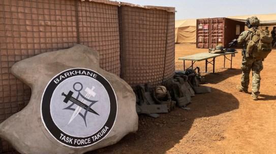 Un membre du groupement des forces spéciales européennes Tabuka, le 3 novembre 2020, qui a pour mission de former, d'entraîneret d'accompagner au combatles forcesarméesmaliennes.