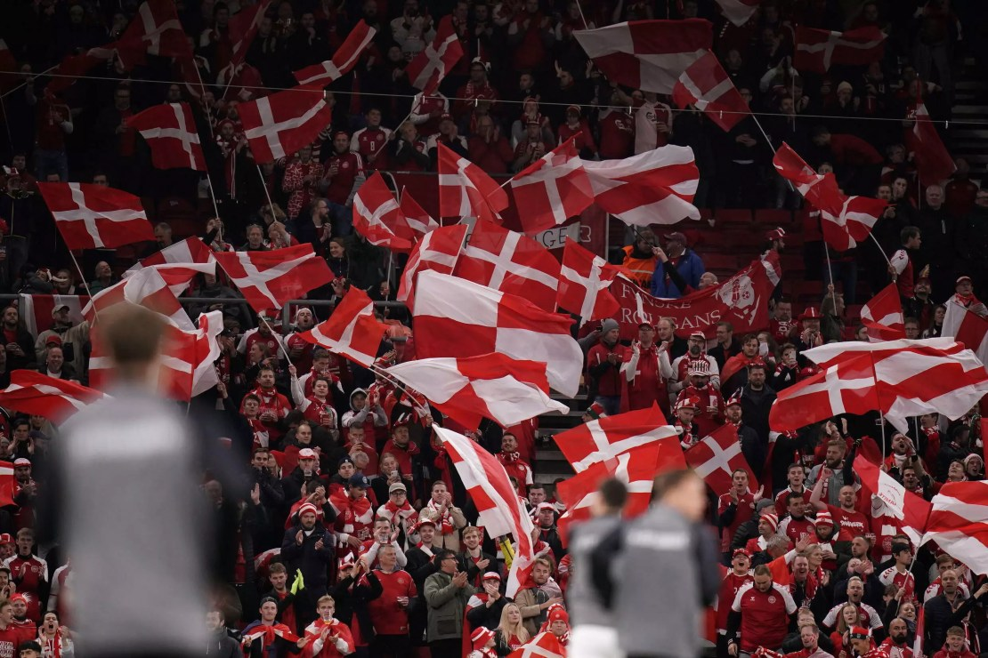 Danish fans will see their team return to the World Cup next year