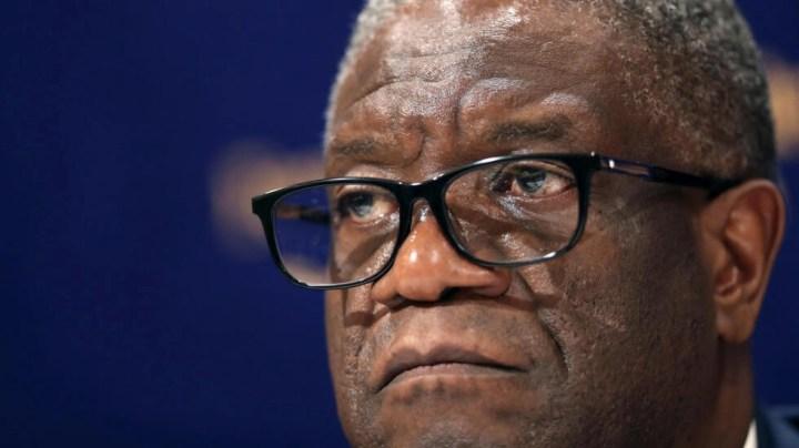 Le gynécologue congolais et prix Nobel de la paix 2018, Denis Mukwege, le 10 juin 2020, annonce avoir démissionné de ses fonctions au sein de la Commission Santé mise en place dans le cadre de la riposte contre la pandémie de Covid-19 dans la province du Sud-Kivu.