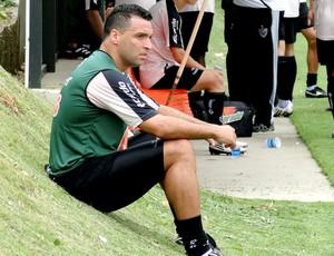 Daniel Carvalho no treino do Atlético-MG