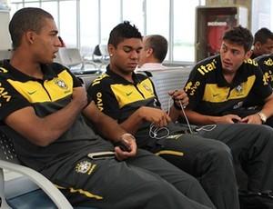 Enbarque Seleção Sub-20