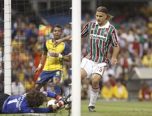 América Mexico Guillermo Ochoa e Fluminense Rafael (Foto: EFE)