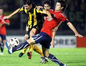 Juan Manuel Olivera Peñarol Carlos Matheu Independiente (Foto: Reuters)