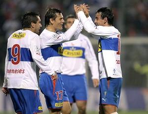 Marcelo Cañete comemora gol do Universidad Católica (Foto: EFE)