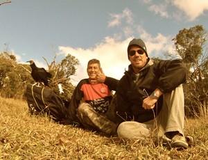 parapente urubu gabriel moojen zona de impacto sportv (Foto: Divulgação SporTV)