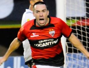 Felipe, atacante do Atlético-GO (Foto: Joelton Godoy/Atlético-GO)