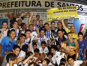 Santos é campeão da Liga Futsal 2011 (Foto: Ricardo Saibun/Santos FC)