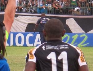 Jobson Botafogo x bangu (Foto: Thales Soares / Globoesporte.com)