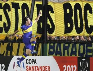 Pablo Mouche gol Boca Juniors (Foto: Pablo Mouche )