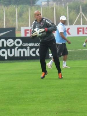 Julio Cesar, goleiro do Corinthians (Foto: Leandro Canônico / globoesporte.com)
