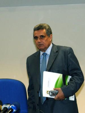 PRESIDENTE DA FEDERAÇÃO DO RJ DE FUTEBOL  RUBENS LOPEZ (Foto: ANDRE DURÃO / Globoesporte.com)