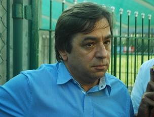 presidente Arnaldo Tirone do Palmeiras (Foto: Marcos Guerra/Globoesporte.com)