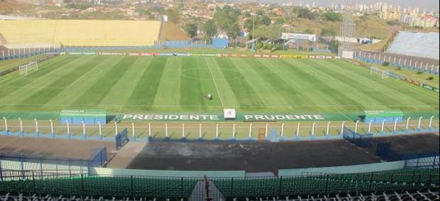 estádio prudentão (Foto: Diego Ribeiro / Globoesporte.com)
