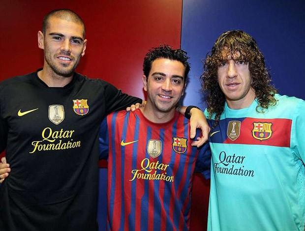 4f7f2a133ccf9 Barcelona vai estrear selo de campeão do mundo na camisa contra o ...