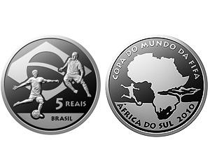 banco central lança moeda, copa da áfrica do sul