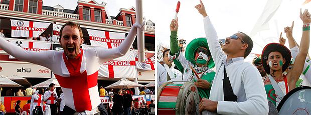 Inglaterra x Argélia: o pré-jogo ao vivo (EFE / AP)