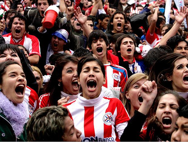 Torcida Assunção Paraguai