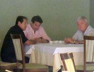 Muricy Ramalho reunião Rodrigo Paiva Ricardo Teixeira CBF